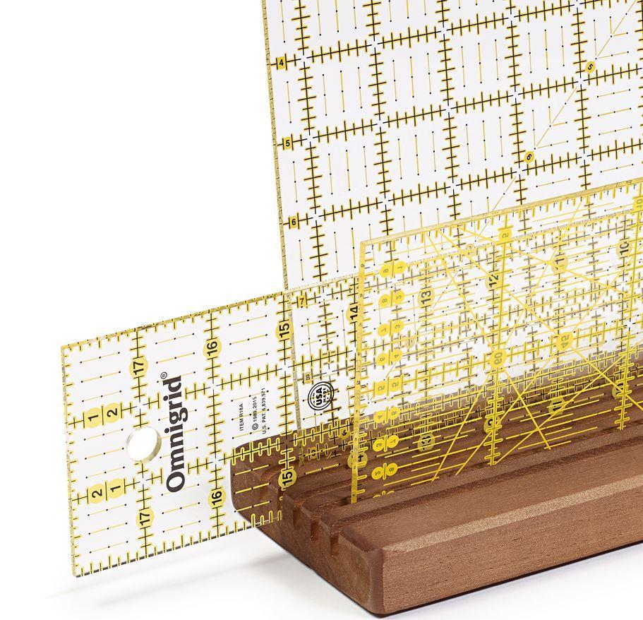 Lineal Patchwork Messwerkzeug 4 Muster auswahl
